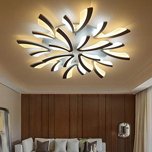 Neuankömmling Moderne Kronleuchter für Wohnzimmer Schlafzimmer Esszimmer Küche Weiß & Schwarz Fertige V-Form Fashioin LED Kronleuchter, Weiße Arme, 9 Arme D87x5cm
