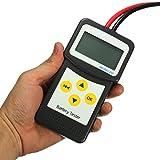 AVANI EXCHANGE Analizador de baterías de vehículos automotrices 12V Tester de la batería del automóvil AGM Gel MICRO-200