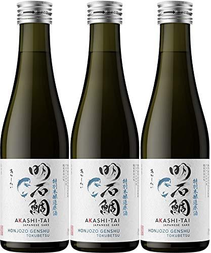 Akashi Sake Brewery Honjozo Genshu Tokubetsu 19%vol (3 x 0.3 l)