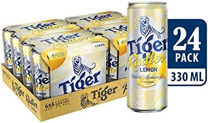 Tiger Radler Lemon Can, 24 x 330ml