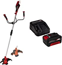 Einhell Cordless Scythe AGILLO 18/200 Power X-Change - Supplied with 4.0Ah Battery and Charger (Lithium-Ion, 18 V, 7500 Mi...