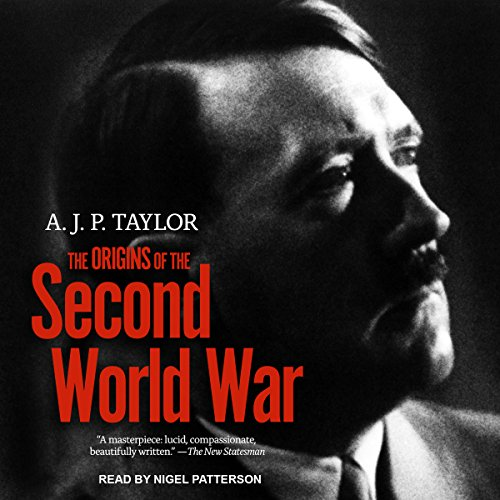 The Origins of The Second World War audiobook cover art