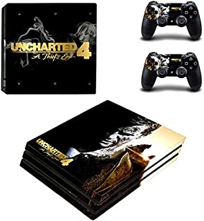KAJAL MANI PS4 Pro Unique Skin Decal Stickers Set for PlayStation Console Controllers Game HD Printing