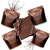 COCOSOLIS Set de exfoliantes de café - Aceites esenciales naturales - El set de regalo lujoso ideal para mujeres - 3 x exfoliante corporal y 1 x exfoliante facial (280 gr)