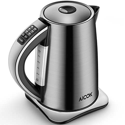 Our #3 Pick is the AICOK Variable Temperature Electric Kettle