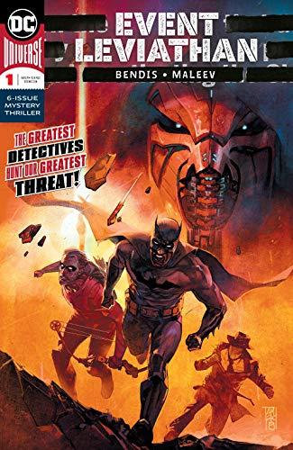Event Leviathan #1 VF//NM 1st Print DC Comics Bendis Maleev 2019
