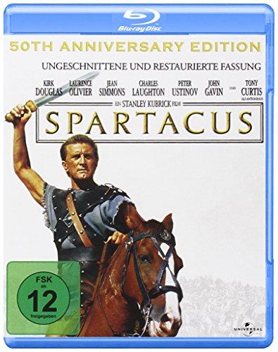 Spartacus - 50th Anniversary [Blu-ray]