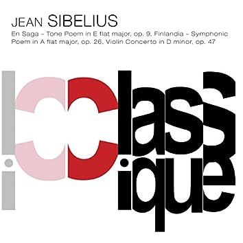 Sibelius: En Saga, Op. 9, Finlandia, Op. 26 & Violin Concerto, Op. 47