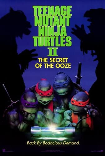 Amazon Com Teenage Mutant Ninja Turtles 2 The Secret Of The Ooze Movie Poster 27x40 Prints Posters Prints
