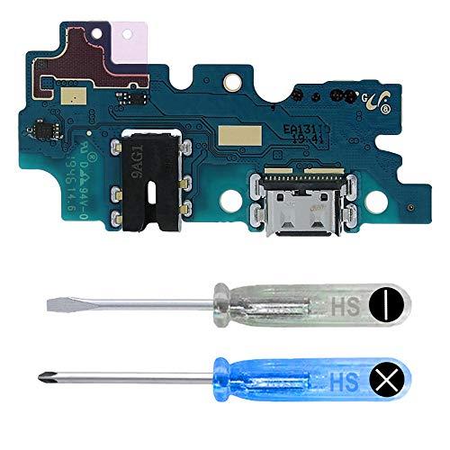 MMOBIEL Conector Dock de Carga Puerto de Recarga Compatible con Samsung Galaxy A30s (A307F) 6.4 Inch 2019 USB Type C 1.0