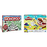 Monopoly Madrid (Hasbro C1009105) + Play-Doh PDH Core Dentista Bromista, Multicolor, 1 (Hasbro B5520EU4)