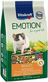 Vitakraft Emotion Beauty Selection All Ages, Aliments pour rat, Lot de 5