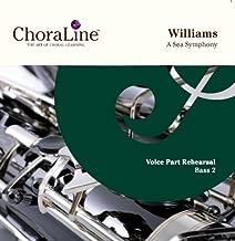 Vaughan Williams A Sea Symphony BASS 2 Rehearsal CD