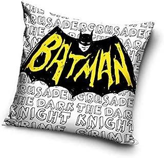 Batman Logo Coussin rembourr/é en Super Soft 40/x 40/cm caracterizado