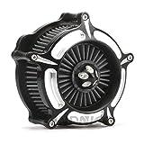 Filtro de entrada de aire sportster 883 de turbina de turbina de la motocicleta para Harley Sportster 1200 883 cuarenta y ocho
