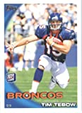 2010 Topps Football Cards Complete 440 Card Set - Includes Rookies of Tim Tebow, Sam Bradford, Jimmy Clausen, plus stars like Drew Brees, Brett Favre, Payton... rookie card picture