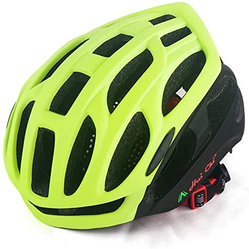 Casque de vélo de Route ZHXH, Hommes et Femmes avec Casque de vélo de Montagne de sécurité Grand Trou + Certification Net Ce / En1078