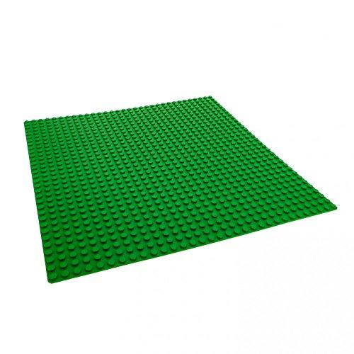 1 x Lego Basisplatte grüne Grundplatte 32 x 32 Noppen 32x32 grün Rasen Platte Bauplatte D05 by Lego