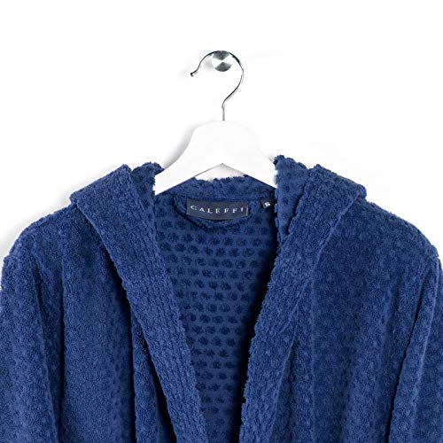 Caleffi Accappatoio in Cotone Blu Notte Sirena - 30895