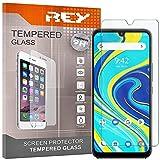 REY 3X Protector de Pantalla para UMIDIGI A7 Pro - UMIDIGI X, Cristal Vidrio Templado Premium