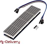 AZDelivery MAX7219 8x32 4 in 1 Dot Matrix LED...