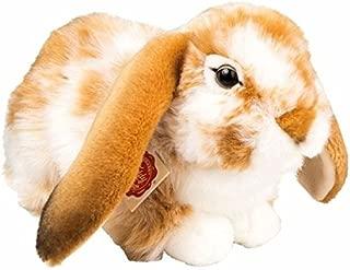 Stofftier Kaninchen braun Hase Plüschtier Widderkaninchen Häschen L. ca. 19cm