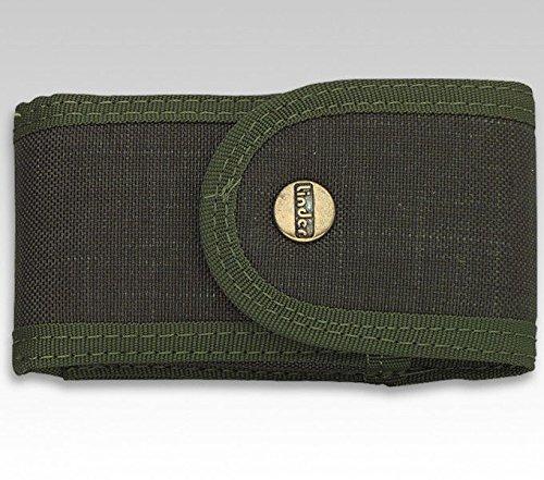 Linder Cordura-Taschenmesser-Etui Jagdgrün, 13 cm