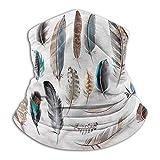 Yaxinduobao Calentador de cuello Face Cover Feathers For Winter Multifunctional Bird Body Feathers Set