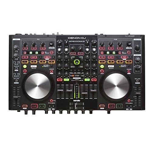 Denon DN-MC6000 DJ-controller/mixer met 4-deck ondersteuning incl. NI Traktor Pro en Virtual DJ-ondersteuning