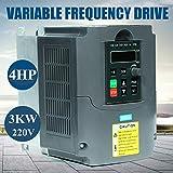 Inversor de frecuencia de 3 kW, 4 HP, controlador de frecuencia variable, VSD, inversor de motor,...