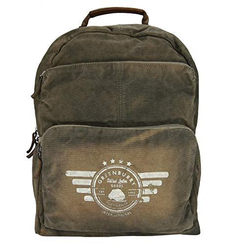 Greenburry Vintage Aviator Rucksack 43 cm Laptopfach