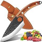 Cuchillos Cocina Profesional Cuchillo Japoneses - Qijieda Cuchillo Serbio Forjado A Mano Profesionalmente, Cuchillo De Chef Profesional Para Procesar Verduras Y Carne