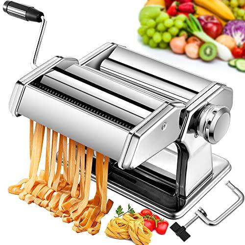 Machine manuelle de fabricant de pâtes, coupeur de rouleaux d'alliage d'aluminium de fabricants de nouilles d'acier inoxydable pour la pâte fraîche