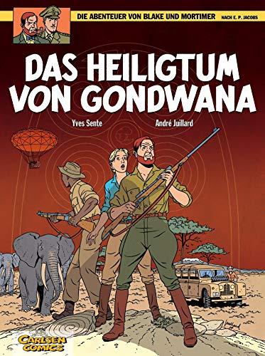 Die Abenteuer von Blake und Mortimer, Band 15: Das Heiligtum von Gondwana