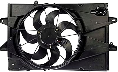 Dual Radiator and Condenser Fan Assembly - Cooling Direct For/Fit GM3115239 10-17 Chevrolet Equinox 10-17 Terrain 2.4L