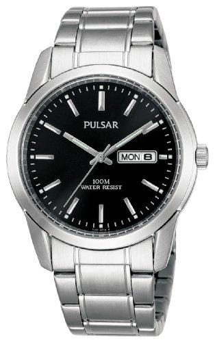 Pulsar Collection Classic PJ6021X1 - Reloj de Caballero de Cuarzo, Correa de Acero Inoxidable Color Plata