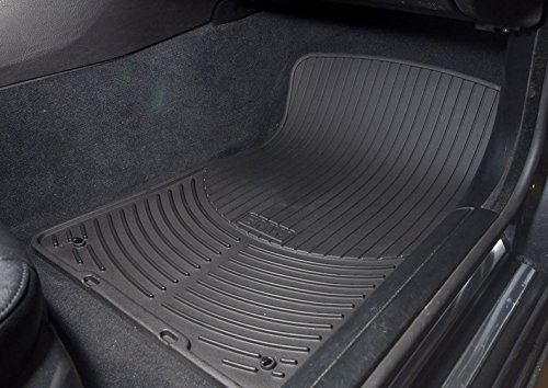 BMW All Weather Front Rubber Floor Mats 325 330 Coupe (2000-2006) - Black