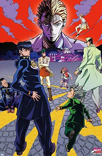 Trends International JoJo's Bizarre Adventure - Season 3 Key Art Wall Poster, 22.375' x 34', Unframed Version