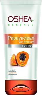 Oshea Papayaclean Anti Blemish Face Wash, Orange, 80 g