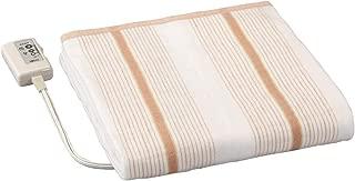 広電 電気掛け敷き毛布 電気毛布 省エネ ボーダー 丸洗い可能 VWK551-B