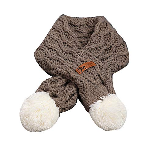 Buy and buy at Brandon Baby Scarf Winter Boy Baby Girl Soft Warm Wool Scarf Children's Wild Ball ScarfGa ColorA