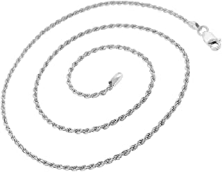 Best 30 sterling silver rope chain Reviews