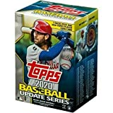 2020 Topps MLB Baseball Update Series Retail Blaster Box Factory Sealed MASSIVE 99 TOTAL CARDS (7 Packs of 14 cards plus 1 bonus pack of 1 EXCLUSIVE Player M... rookie card picture