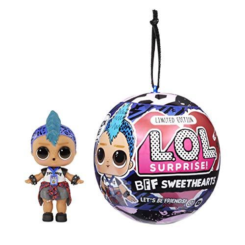 L.O.L. Surprise - 574453 - LOL Surprise BFF Sweethearts Bambolotto Ragazzo Punk Con 7 Sorprese