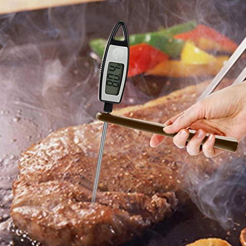 Barbecue-Thermometer Stift Barbecue-Thermometer Einfach zu bedienende Sonde Tragbares digitales Lebensmittel-BBQ-Messwerkzeug für den Grill für den Haushalt