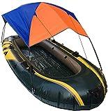Kayak Barco Canoa Sombrilla Toldo Botes inflables Toldo Velero Cubierta Superior Carpa - Protección contra la Lluvia para Pesca en la Playa, no Incluye Bote