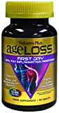 Nature's Plus AgeLoss First Day Healthy Inflammation Response - 90 Vegetarian Tablets - Gluten Free - 30 Servings
