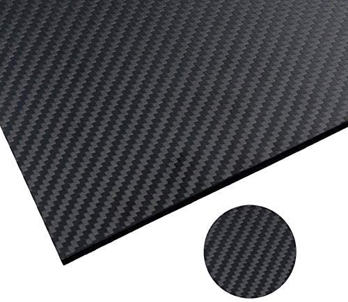 ARRIS 400X500X1.5MM 2.0MM 2.5MM 3.0MM 4.0MM 5.0MM 100% 3K Carbon Fiber Plate Plain Weave Panel Sheet (Glossy Surface)