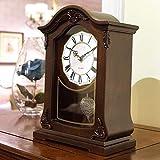 MingXinJia Relojes de Cabecera para el Hogar Relojes de Mesa de Escritorio,...