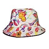 Magnus MMXV Gorro Bucket Hat Doble Vista Reversible Pescador Colores Figuras (EOS)